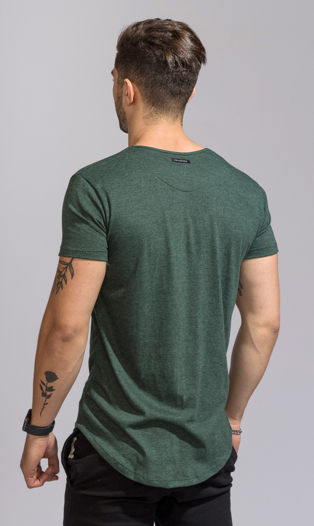Maxi tshirt - Emerald green - buy online