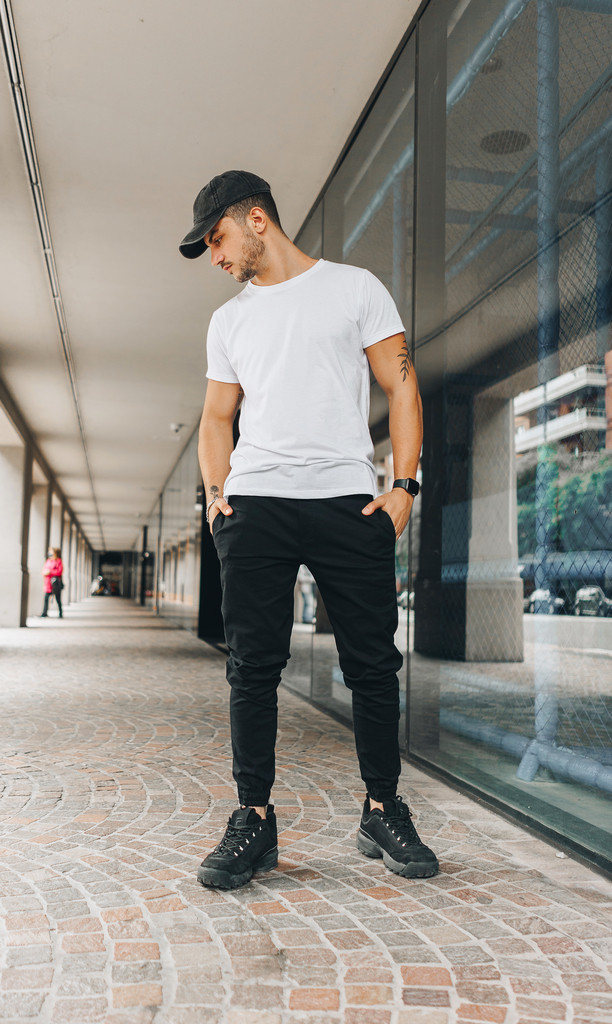 Skinny gabe jogger -  Just black - buy online