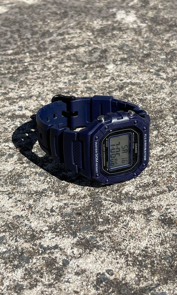 Casio vintage - Illuminator blue - buy online