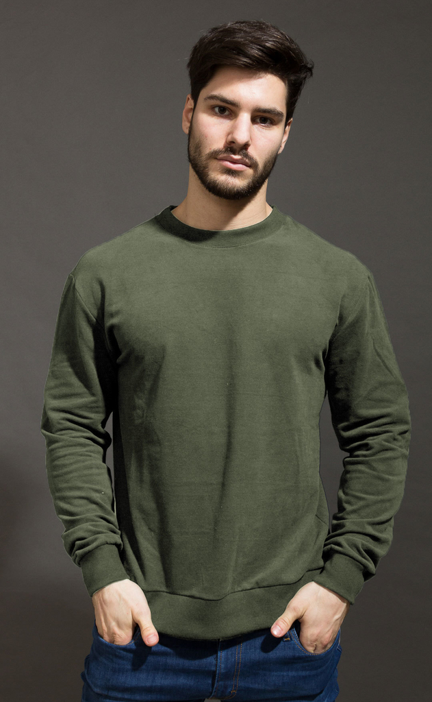 Basic Sweatshirt - Army
