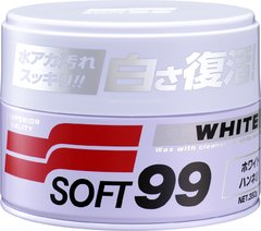 Soft99 Cleaner White Wax 350g