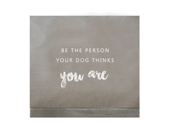"SALE! FUNDA S ""BE THE PERSON"" ELEFANTE"