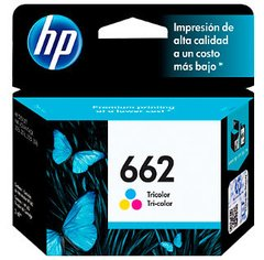 Cartucho de Tinta HP 662 Color Original CZ104AB