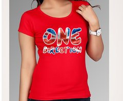 playera con logo one direction