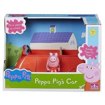 PEPPA PIG FAMILY CAR CHICO - comprar online