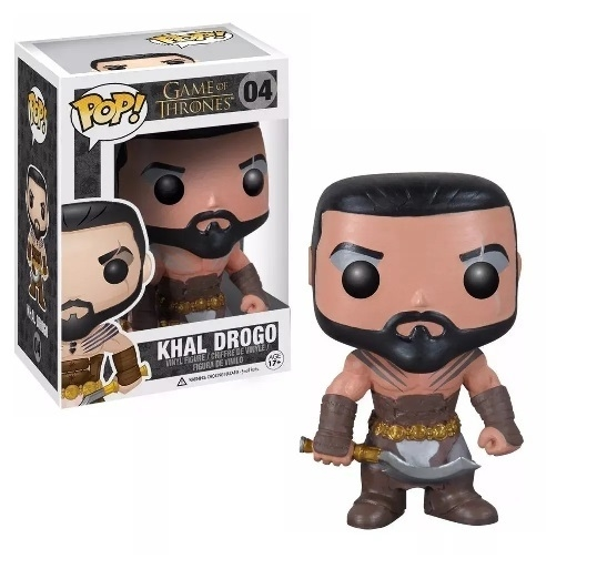 FUNKO POP ORIGINAL KHAL DROGO 04