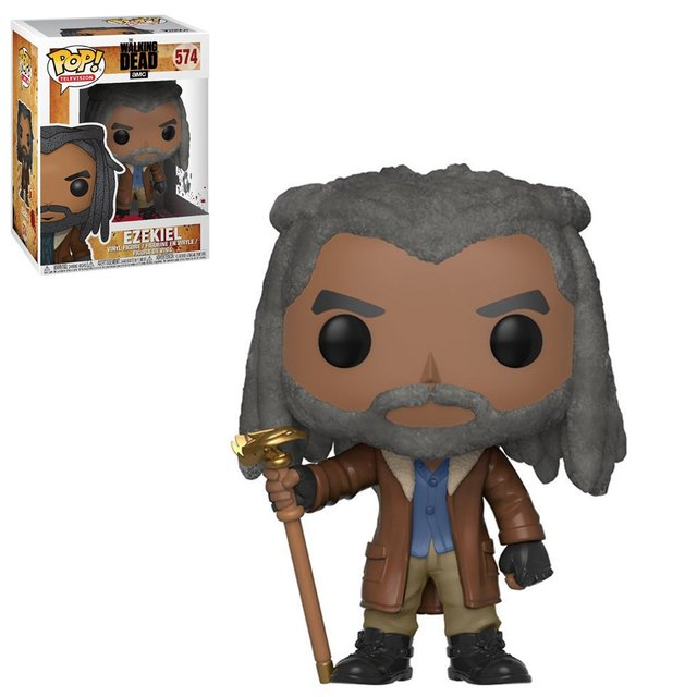 THE WALKING DEAD EZEKIEL FUNKO  POP ORIGINAL