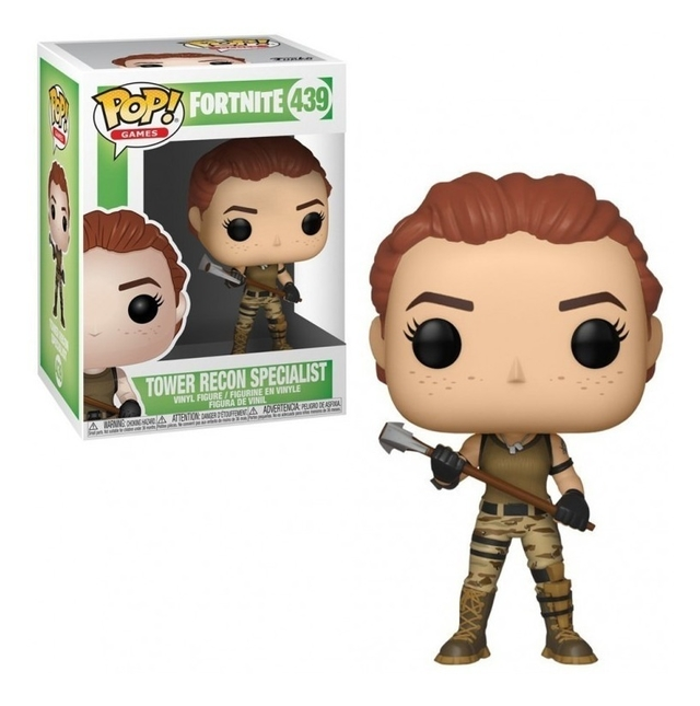 FUNKO POP ORIGINAL TOWER RECON SPECIALIST FORNITE 439