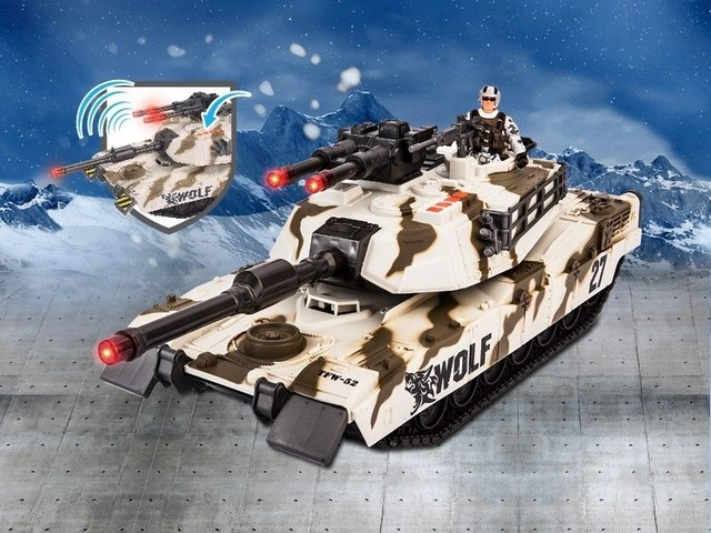 Soldier Force set batalla tanque - comprar online