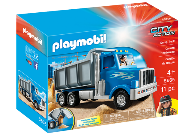 PLAYMOBIL CITY ACTION 5665