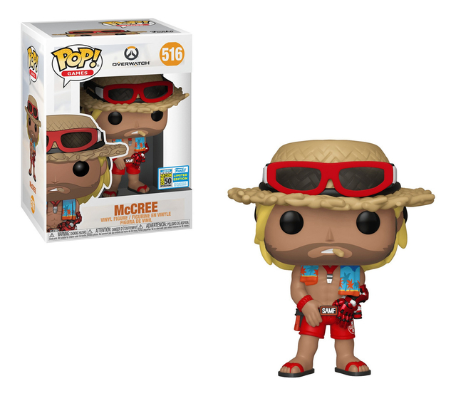 OVERWATCH MCCREE FUNKO POP ORIGINAL EDICIÓN LIMITADA