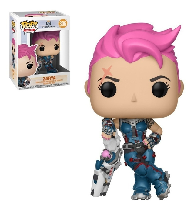 OVERWATCH ZARYA FUNKO  POP ORIGINAL