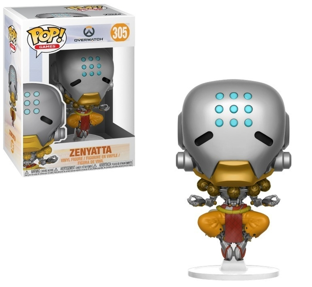 OVERWATCH ZENYATTA FUNKO  POP ORIGINAL