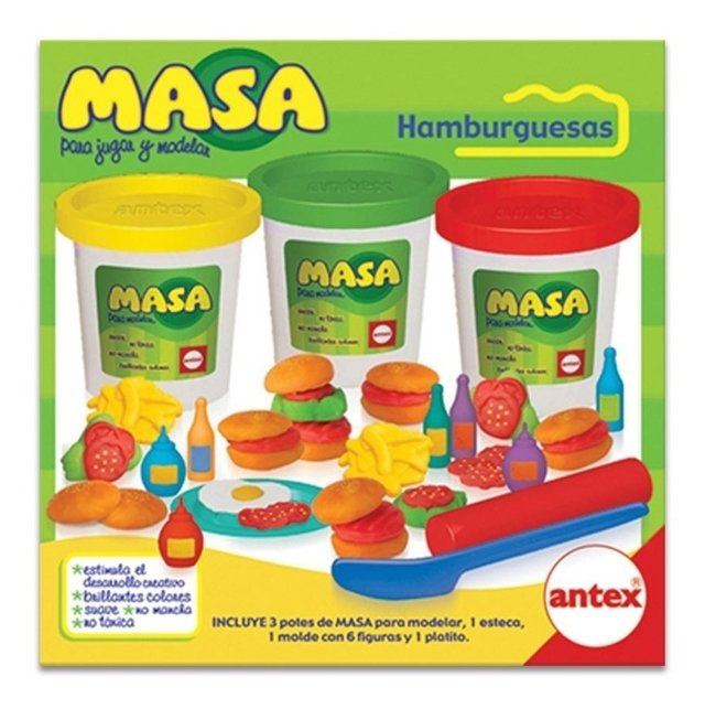 ANTEX MASA HAMBURGUESAS - ART 2140