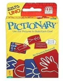 Pictionary Cartas RUIBAL - ART 1020