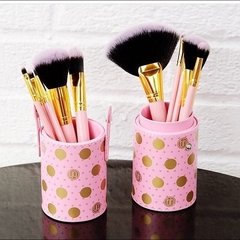 BH Cosmetics - Dot Collection 11 Piece Brush Set Pink - comprar online