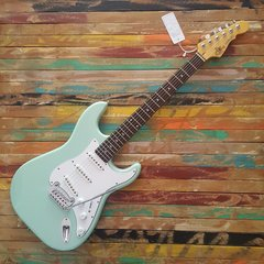 G&L Legacy Tribute Surf Green - Rosewod Neck