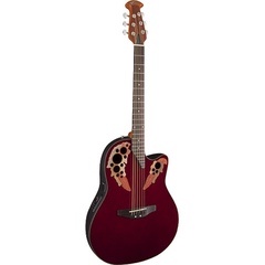 Ovation AE44-RR Applause Elite Acoustic/Electric Guitar (Ruby Red) - comprar online