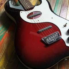 Danelectro 63 Red Sparkle - Lead Music