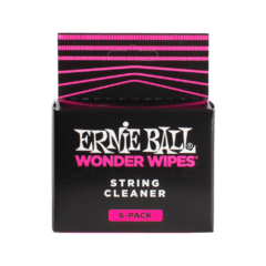 ERNIE BALL WONDER WIPES STRING CLEANER 6 PACK - 4277