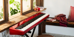 CASIO PX-S1000 Piano | 88t. Acc.Martillo T. Marfil | 18 Soindos | 192 polifonía | 1 pedal | Bluetooth | APP | Line Out Stereo| Audio In | REC | USB | Negro, Blanco o Rojo - Lead Music