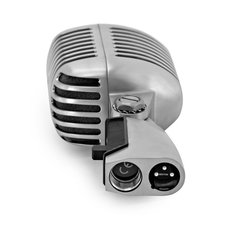 Shure 55SH Series II Dinamico Cardioide Vocal Vintage p/ Vivo/Estudio | Carcasa de fundición cromada satinada /Switch on/off - comprar online