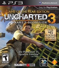 Uncharted 3: Goty Edition