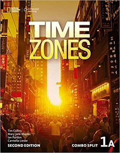 TIMES ZONES 1A - COMBO SPLIT - SECOND EDITION