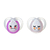 Chupete Tommee Tippee Night Time 0-6 M Pack x 2 ROSA