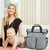 Bolso Maternal Skip Hop Duo Heather Grey - tienda online
