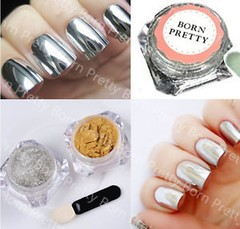 Born Pretty - Nail Art Mirror Powder Chrome 30353