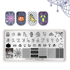 Nail Art Stamping BORN PRETTY Halloween BP-L004