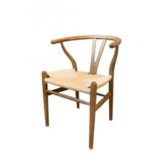 Silla Wishbone Roble Americano Natural