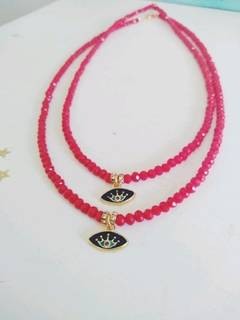 Collar Lotus Rojo