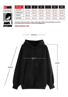 Buzo Hooded 25iMOB Hannya - SamoaShop