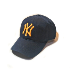 Gorra polo regulable NY marino Naranja