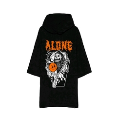Buzo hoodie mangas cortas AcrossTheRainbow Alone - comprar online