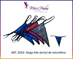 ART. 2010: Tanga de Lycra Hilo Dental