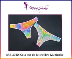 Art. 3030: Colaless de Lycra Multicolor