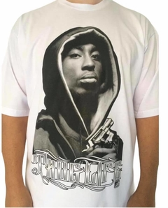 Camiseta rap power tupac touca na internet