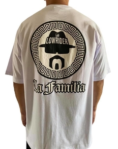 Camiseta rap power low rider la familia - comprar online