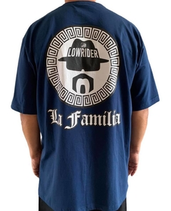 Camiseta rap power low rider la familia - loja online