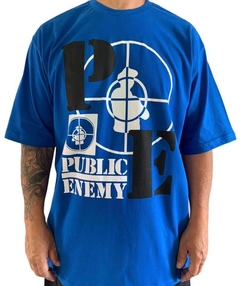 Camiseta rap power public enemy - loja online