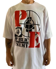 Camiseta rap power public enemy - comprar online