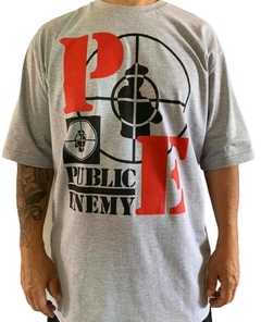 Camiseta rap power public enemy na internet