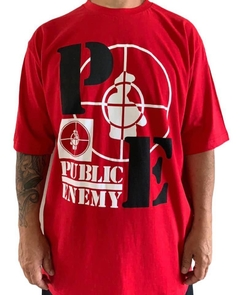 Camiseta rap power public enemy - Rap Power