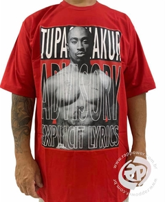 Camiseta rap power tupac lyrics - Rap Power