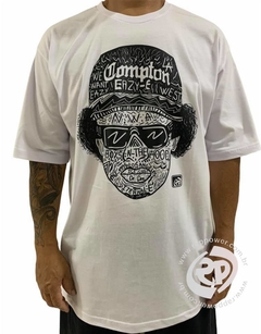 Camiseta rap power eazy compton - Rap Power