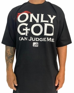 Camiseta rap power tupac only god can judge me - Rap Power