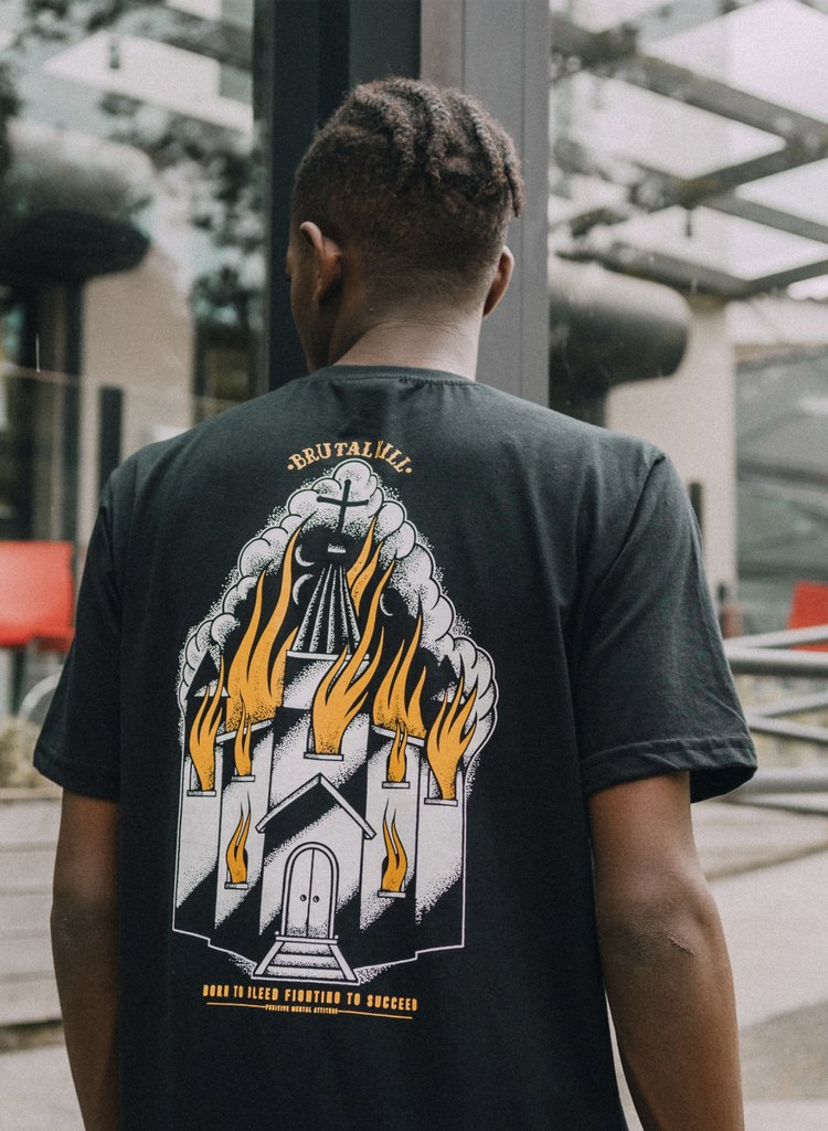 Imagem do Camiseta Tradicional - Burning Souls